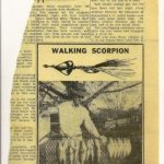 Ad for Walking Scorpion
